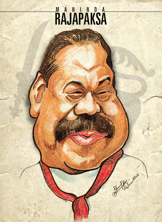 caricature by bharat kv