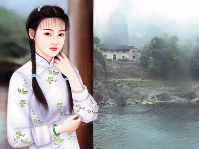 chinese woman paintings 10