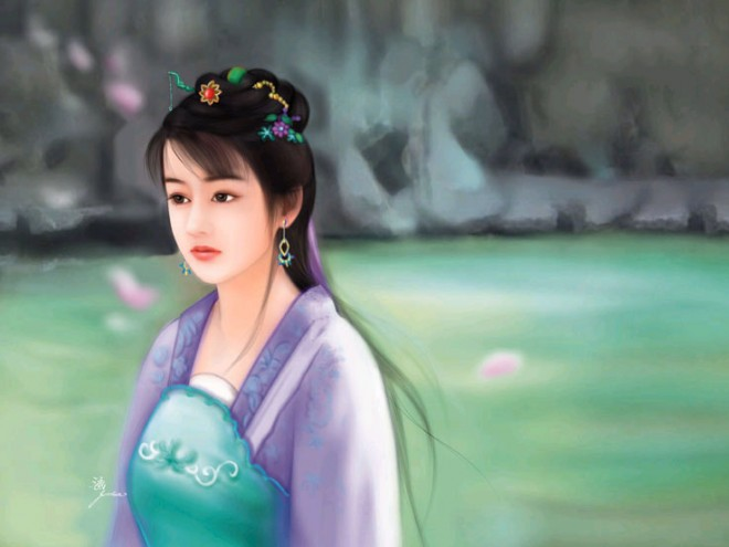 chinese woman paintings