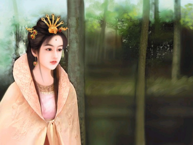 chinese woman paintings 12