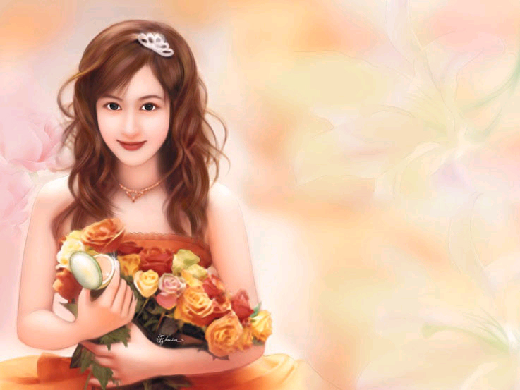 chinese woman paintings 14
