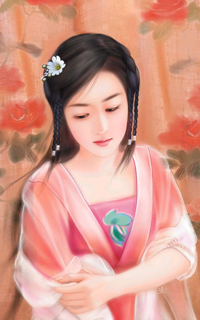 chinese woman paintings (4)