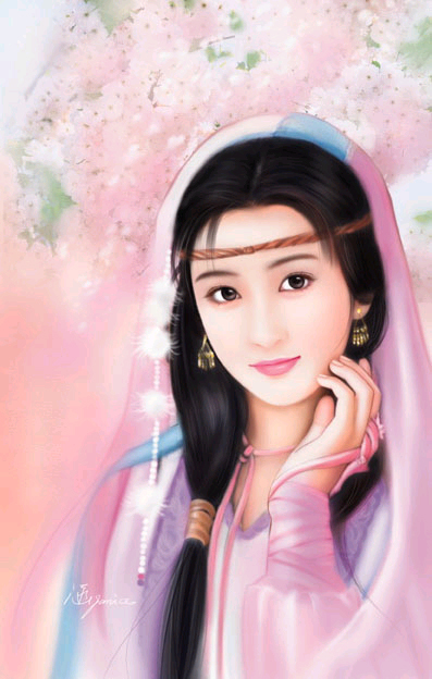 chinese woman paintings 7