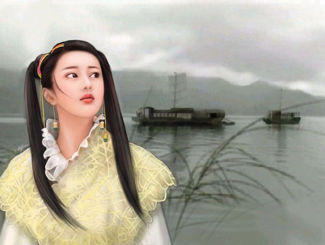 chinese woman paintings 8
