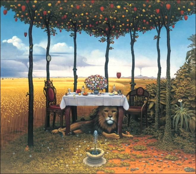dream world painting jacek yerka 13