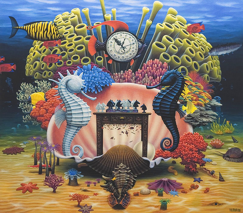 dream world painting jacek yerka