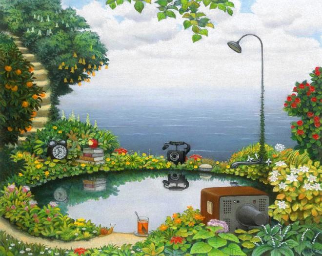 dream world painting jacek yerka 5