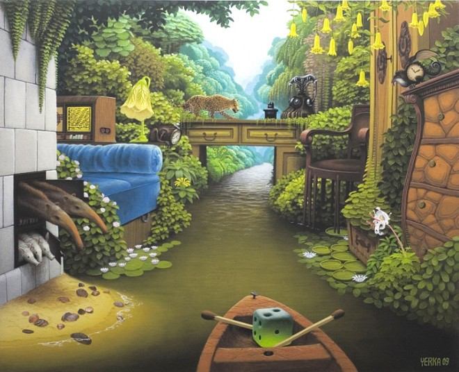dream world painting jacek yerka 9