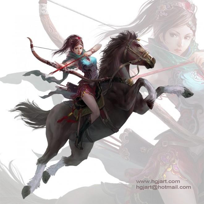 fantasy characters digital paintings guangjian huang 18