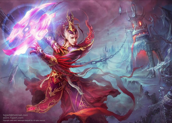fantasy characters digital paintings guangjian huang 21