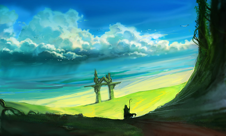 fantasy digital art anndr kusuriuri