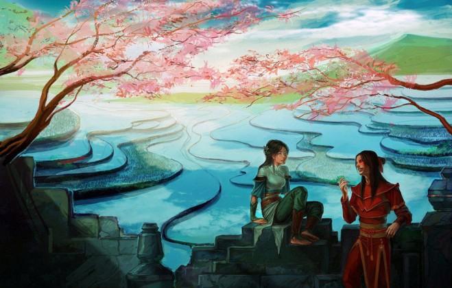 fantasy digital art anndr kusuriuri 9