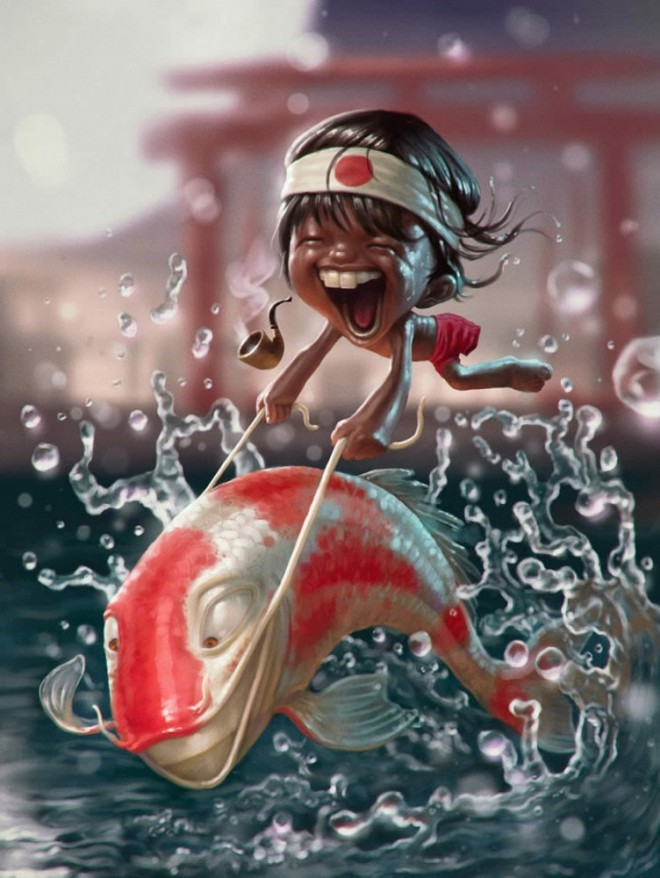 funny illustration tiago webneel com