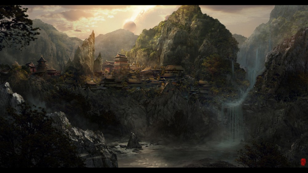matte painting