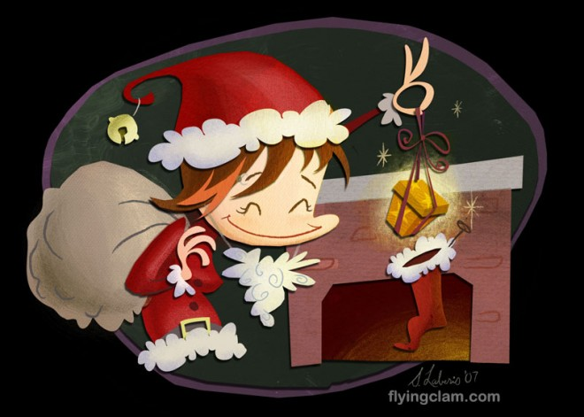 merry christmas greeting card 26
