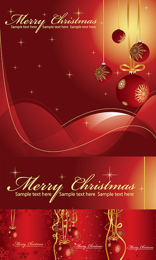 merry christmas greeting card 4