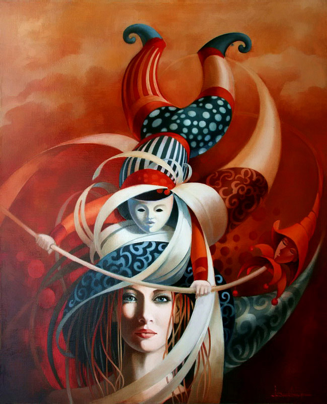 oil painting jeanclaude