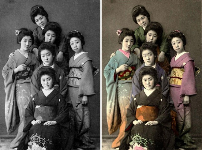 old photo coloring 8
