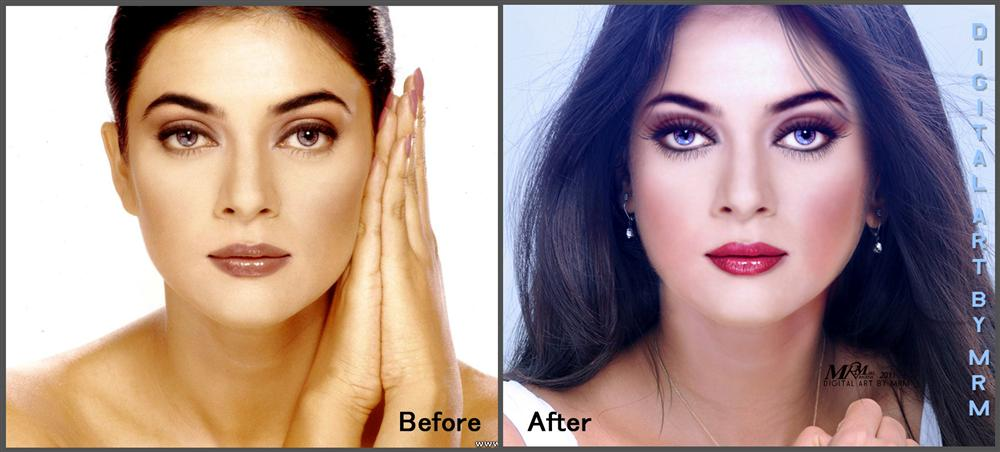 photoshop after before