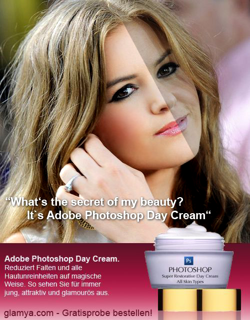 photoshop afterbefore daycream 11