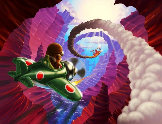 flying racers