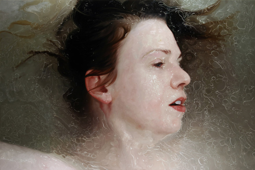 realistic painting glass window alyssa monks (12)