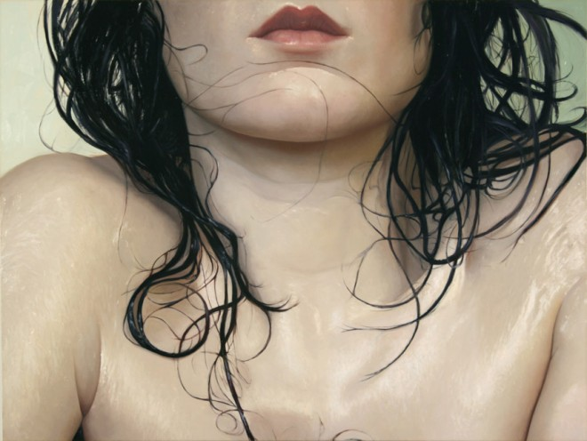 realistic painting glass window alyssa monks 17