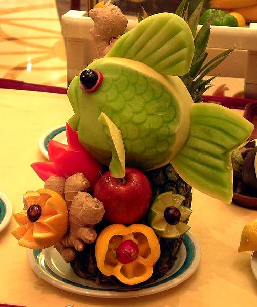 vegetable carving