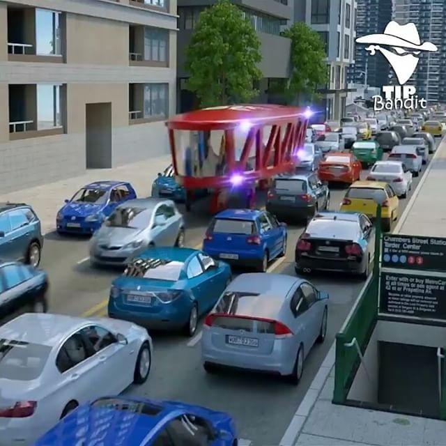 Futuristic Gyroscopic Transportation Design idea by Dahir Insaat