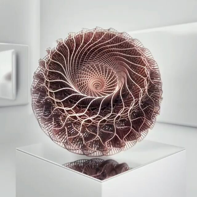 Mesmerising Sculpture by Visual artist Can Buyukberber