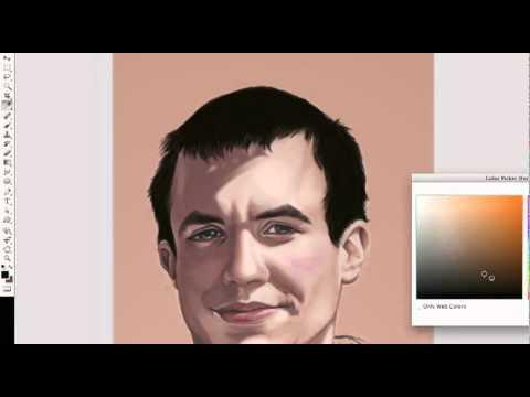 Portrait - Photoshop Digital Painting Tutorial