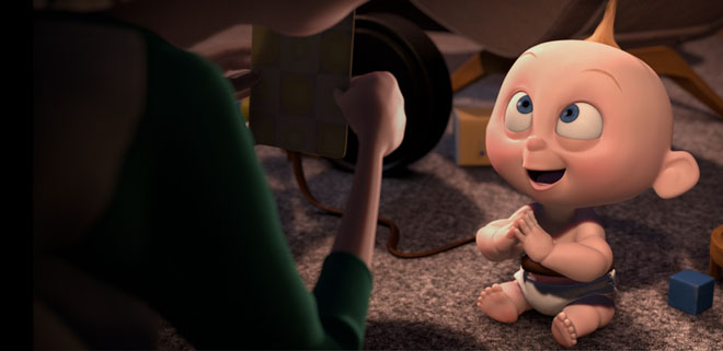 Jack Jack Attack Stereo Mix - Pixar Short Film