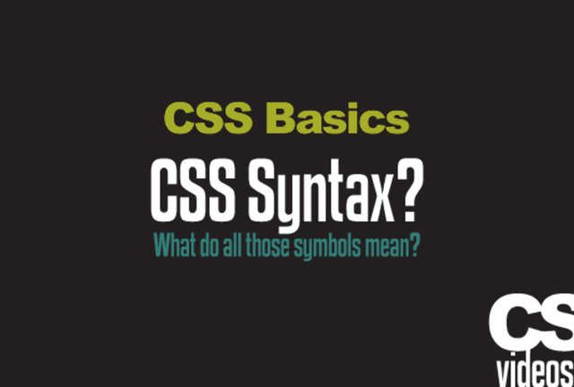 Learn CSS with the Basics CSS Tutorials - 9 videos