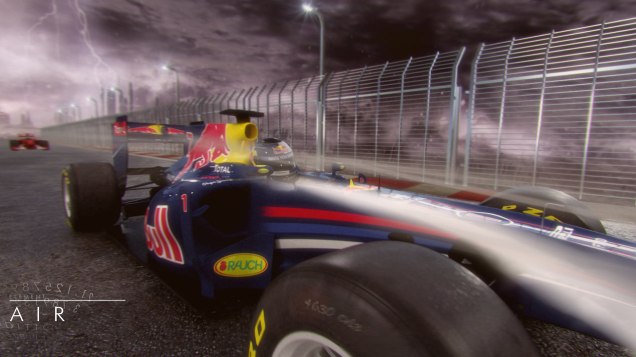 Formula 1 2012 The 5 Elements - 3D Animation