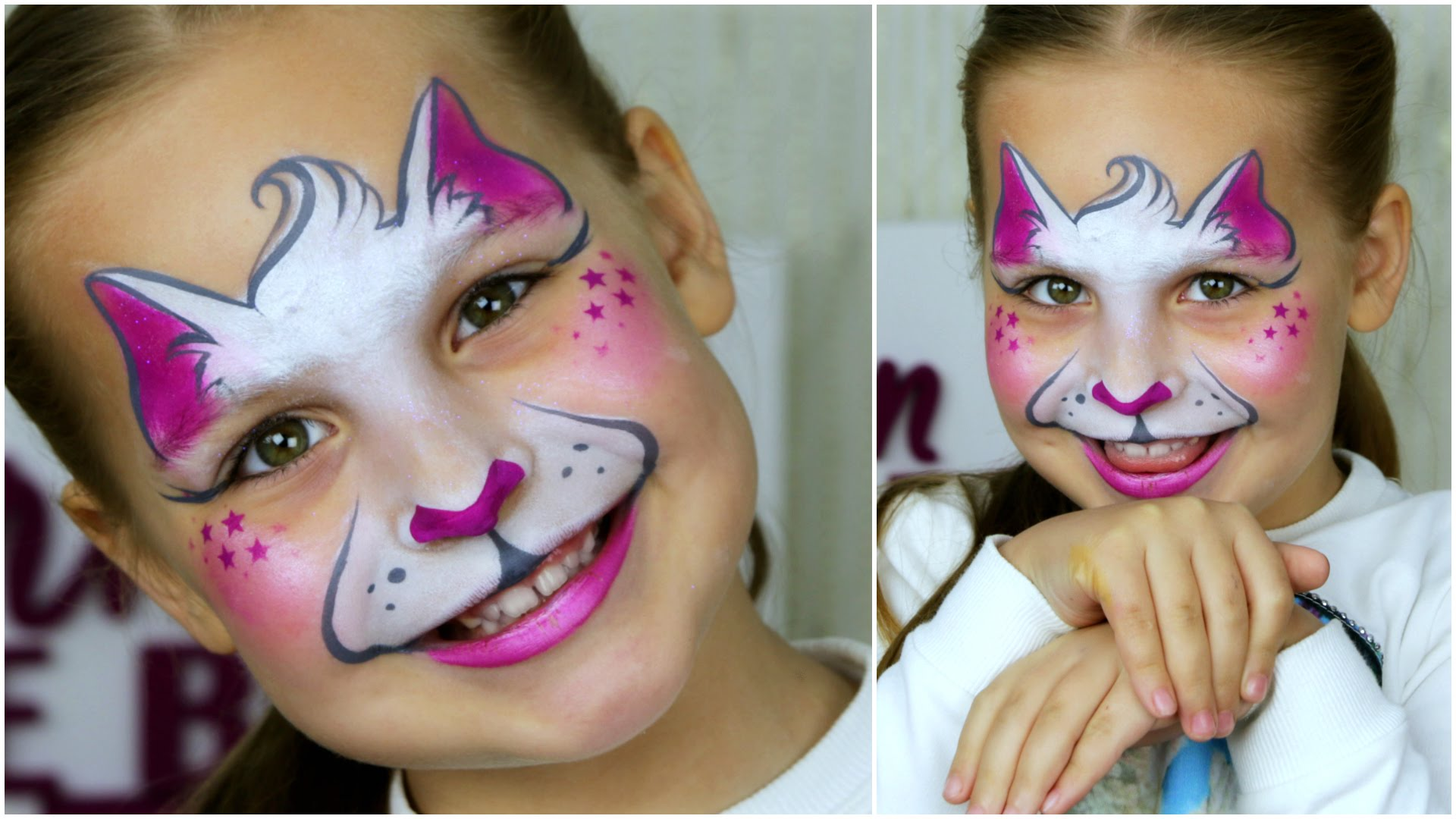 Kitty Cat - Easy Face Painting Tutorial