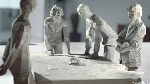 Paper Made Skoda - Awesome 3D Animated TV Commercial