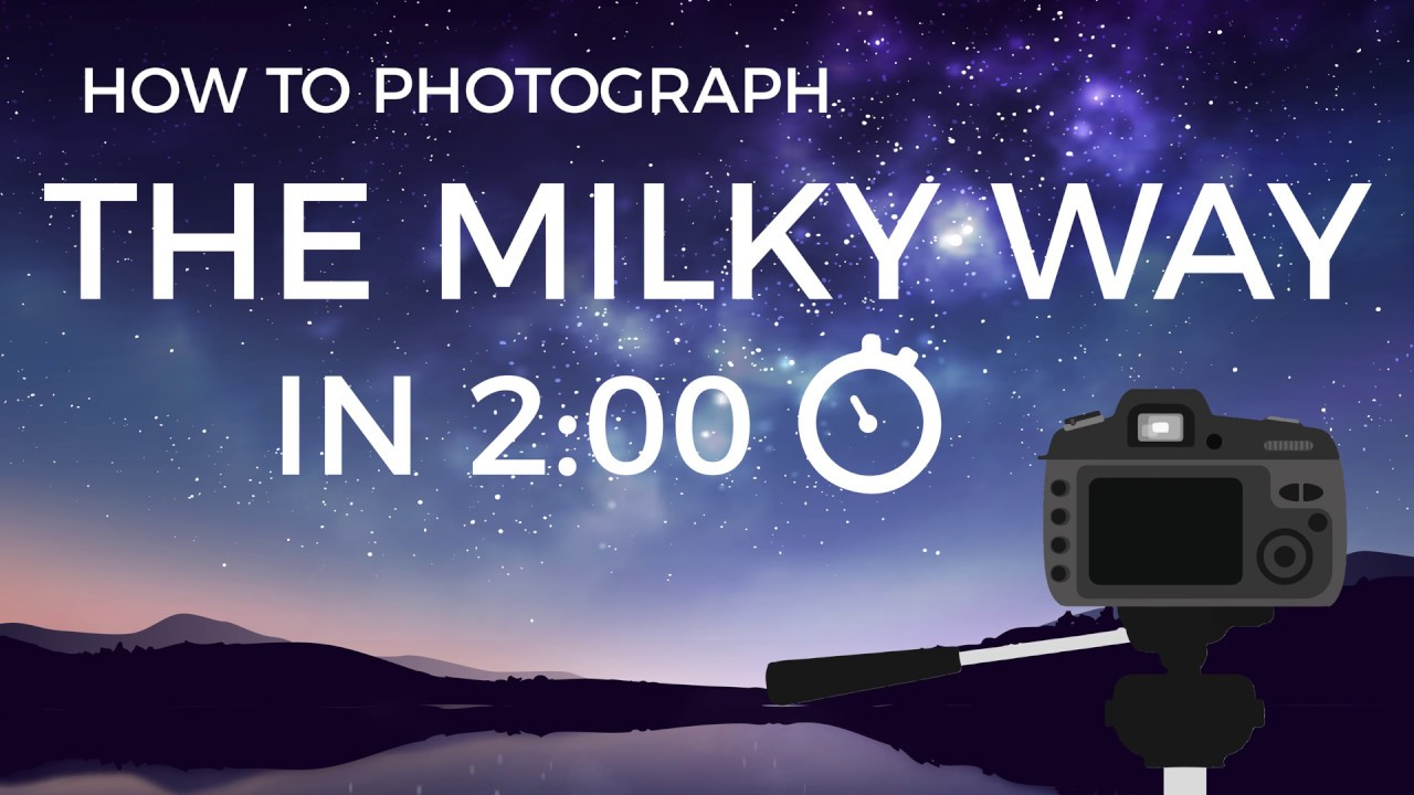 Easy Photography Tips - Learn how to Capture the Milky Way