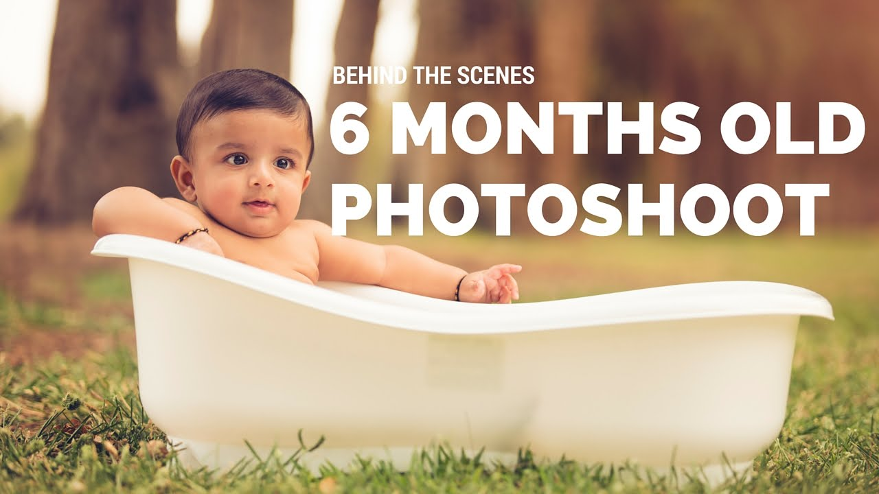 Behind the Scenes of 6 month Baby Photography