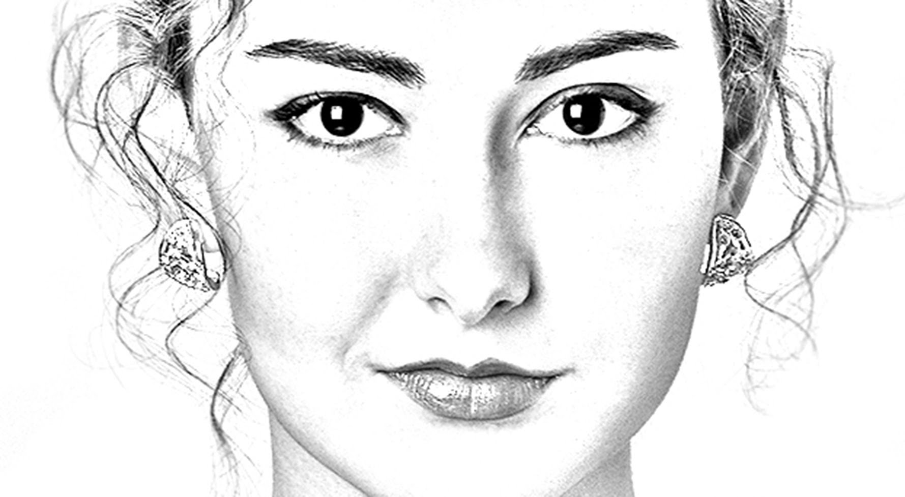 Photoshop Tutorial - Convert Photos into Pencil Drawings by Marty
