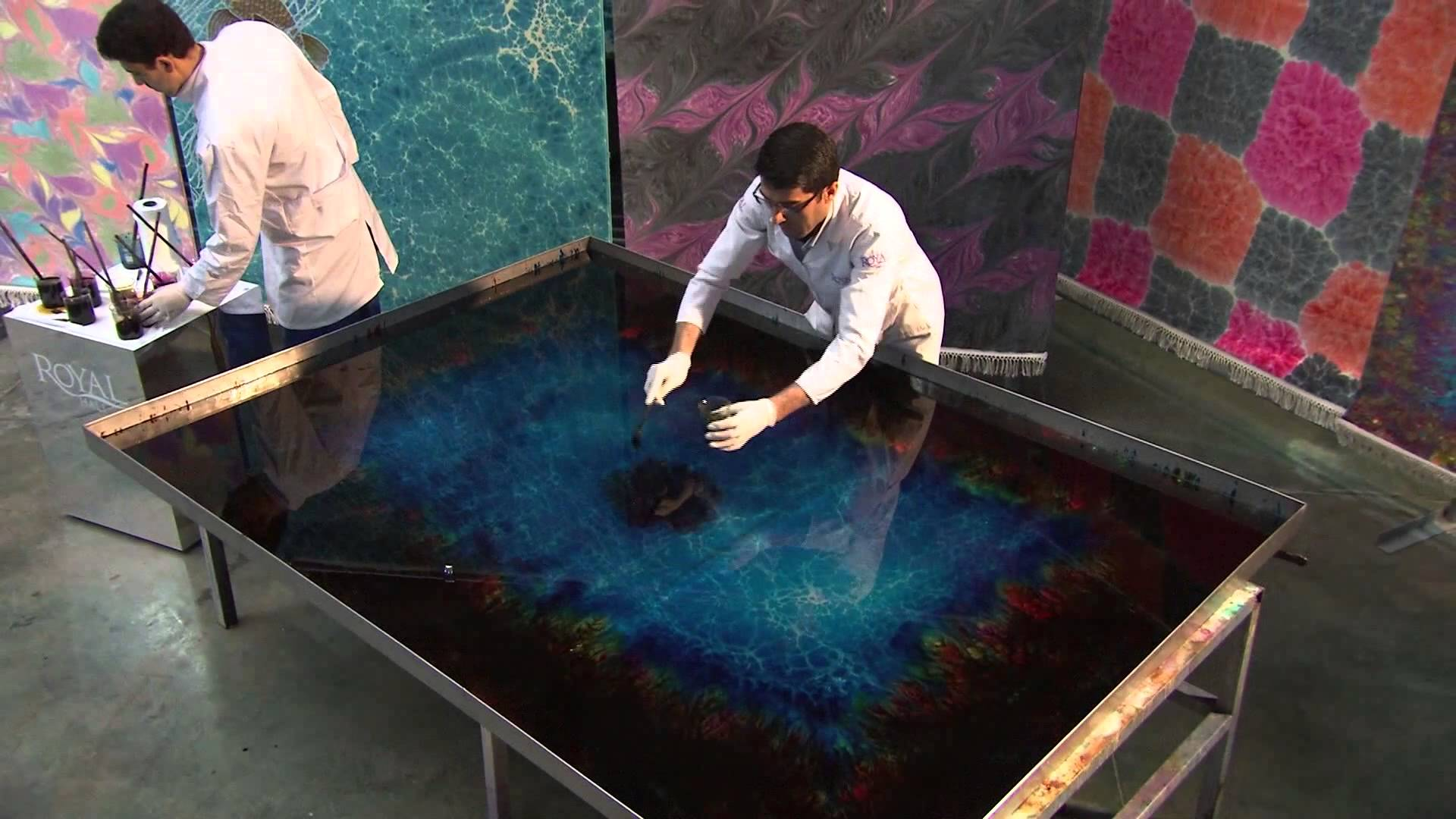 Stunning 3D painting of Under the Sea by Royal Ebru Hali