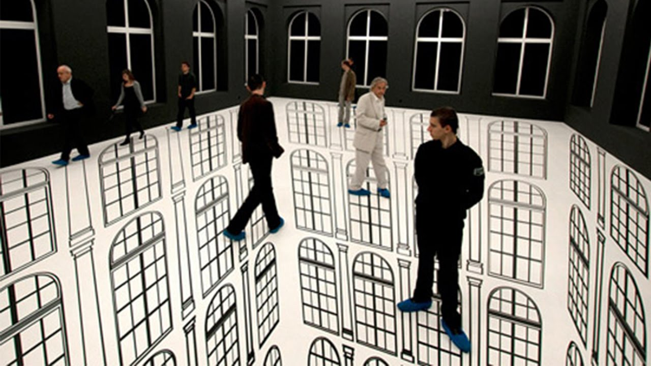 10 Mind Blowing Optical Illusions from around the world