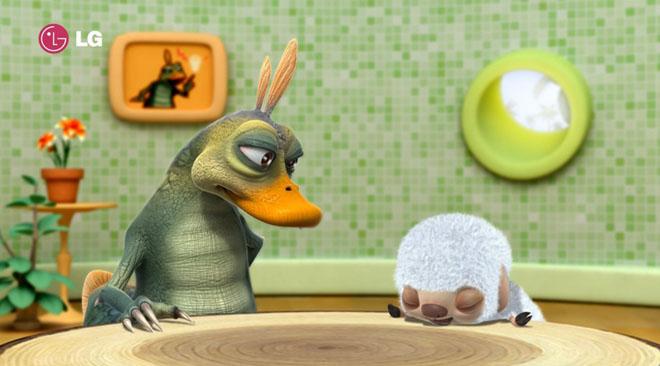 Sheep In The Island 1 - Pixar Short Film