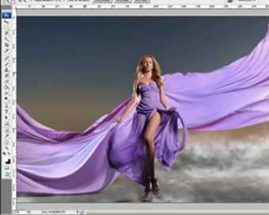 Fashion photography and Photo retouching process - Behind the scenes