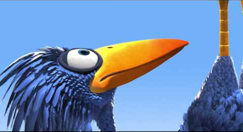 Pixar Short - For The Birds