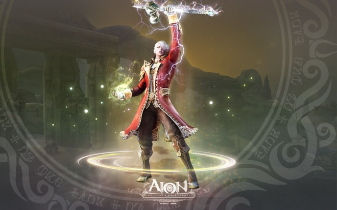 3d game fantasy character by jungwon park wallpaper