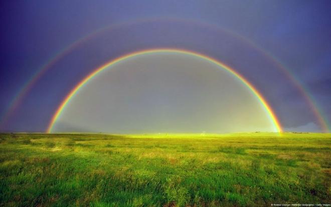 cute rainbow wallpaper