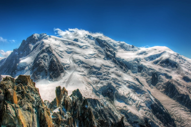 mount blanc wallpaper
