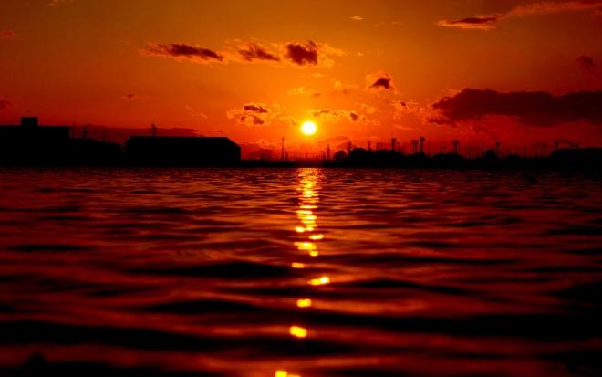 sunrise photography wallpaper