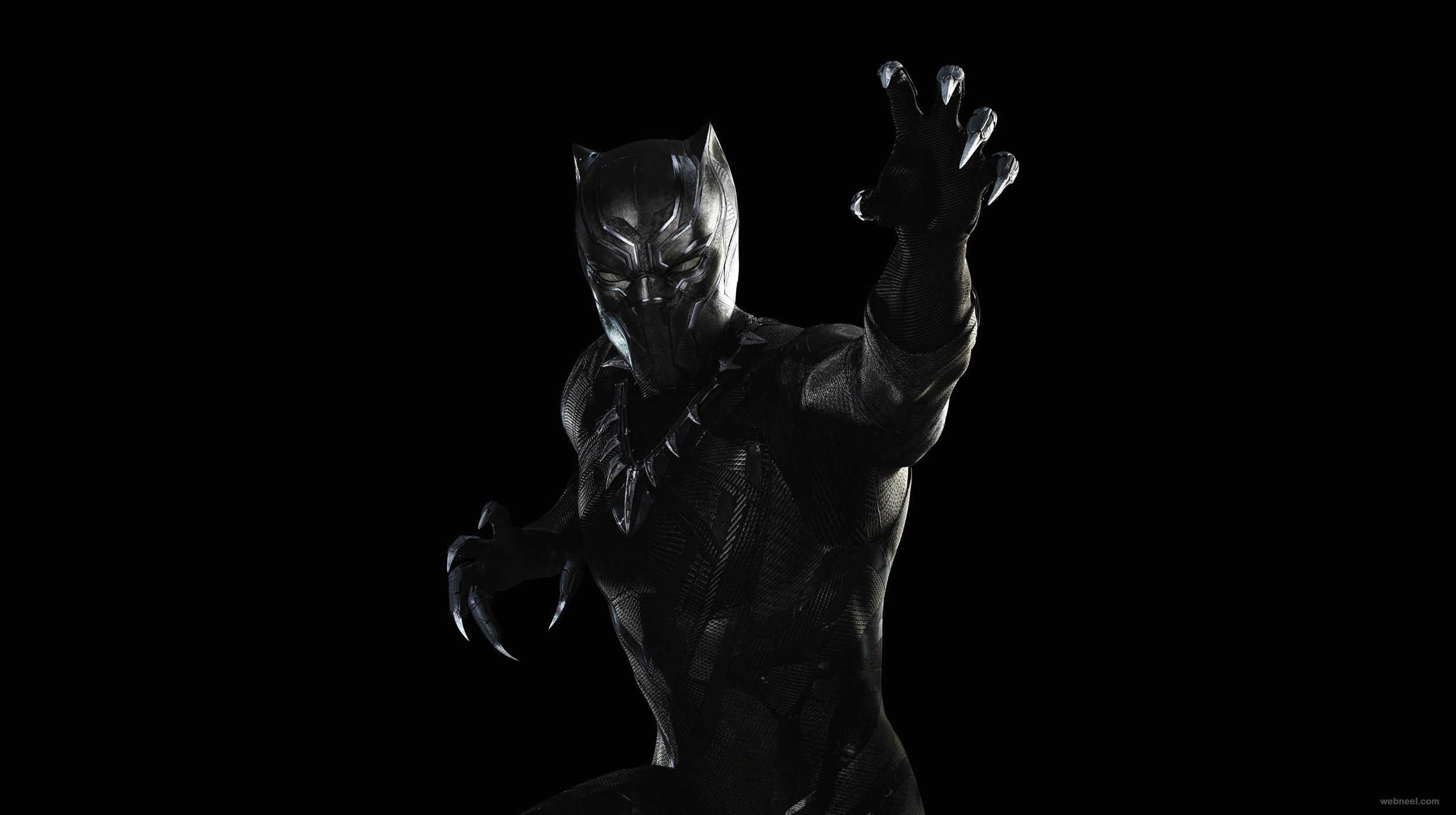 black wallpaper panther best