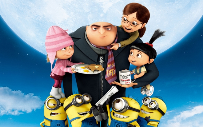 despicable me 2 animation movie wallpaper